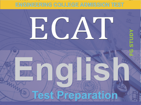 ECAT Entry Test English Image By FG STUDY