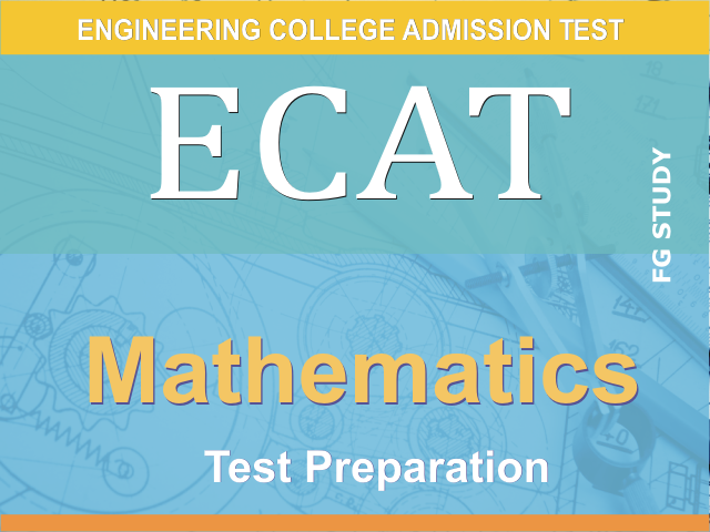 ECAT Mathematics MCQS