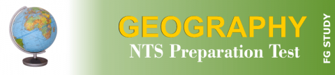 NTS Geography Papers MCQS Online Test
