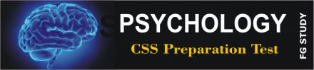 CSS Psychology Paper MCQS Online Test