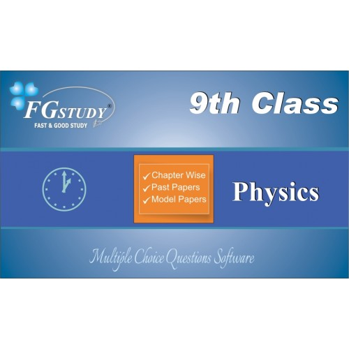 solved mcqs of physics 9th class,